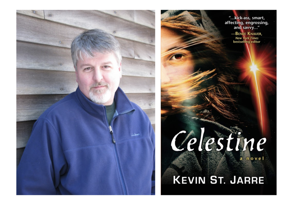 "Teacher & author Kevin St. Jarre publishes novel ~ ""Celestine"""