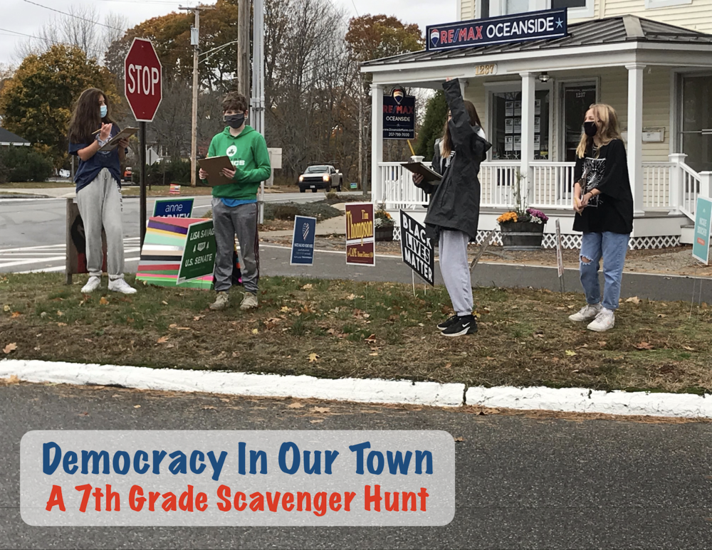Democracy in Our Town: A 7th Grade Scavenger Hunt
