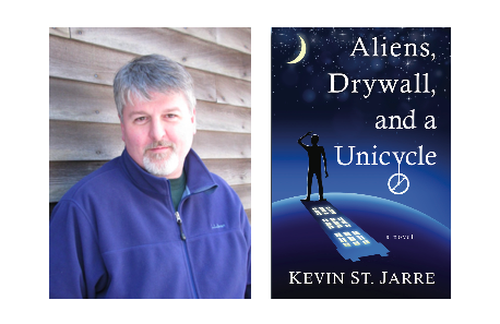 Join author Kevin St. Jarre Tuesday Nov 10 @ 6 pm