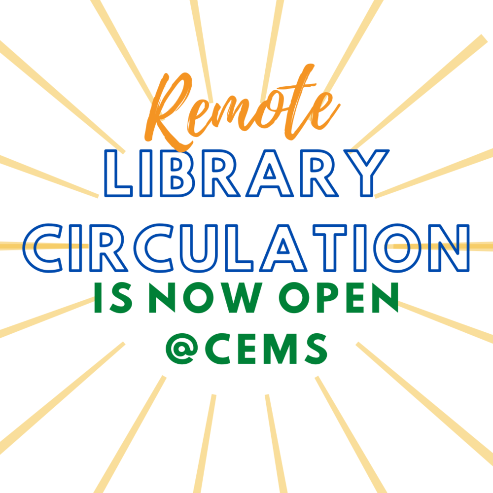 Library Circulation re-opens at the Middle School
