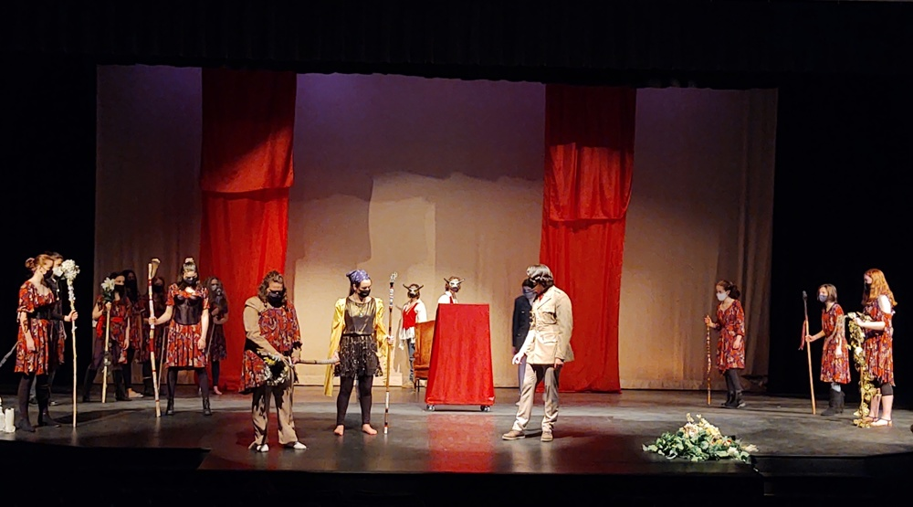 Register now to see CEHS Theatre's One Act Play:   THE BACCHAE
