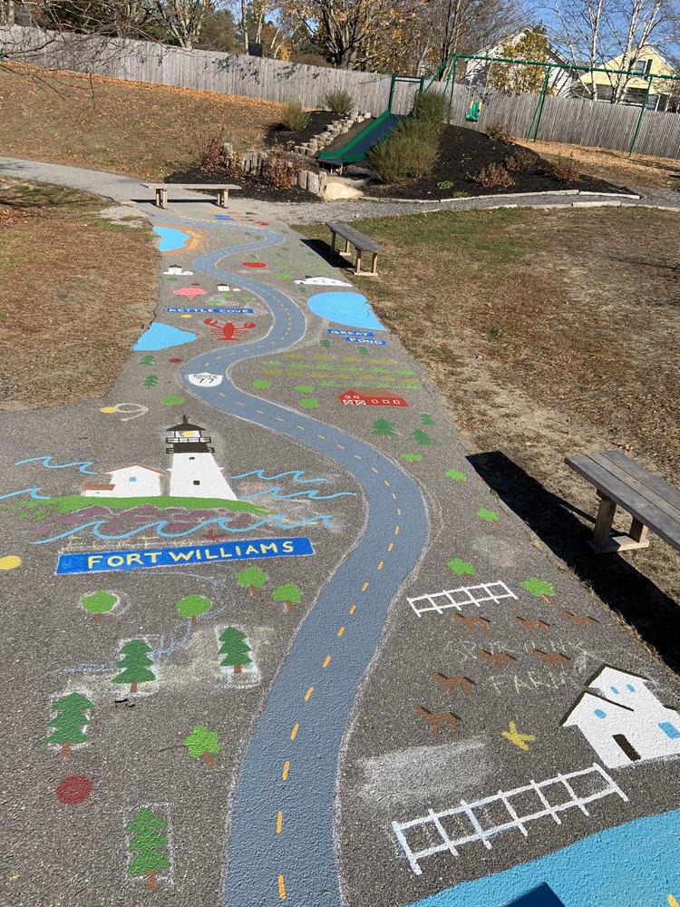 Mural Added to Pond Cove Playground