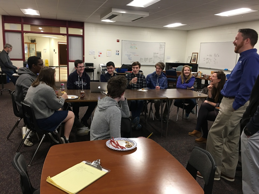 Coding Club hosts Tyler Technologies & Maine App Challenge