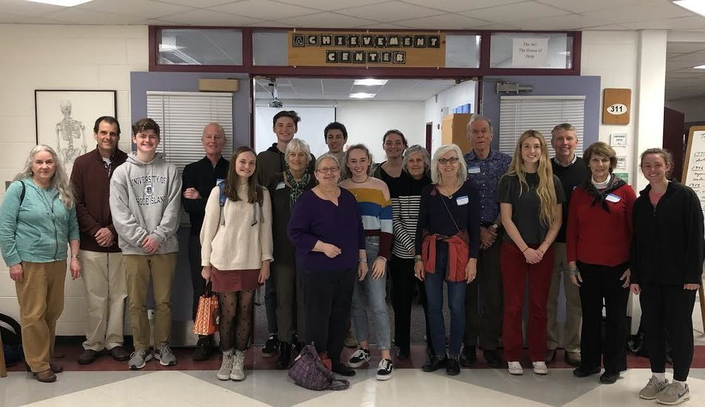 Senior Citizens Visit CEHS