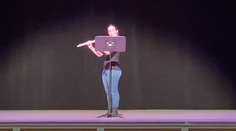Sydney McFarland gives senior recital