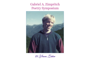 Gabriel A. Zimpritch Poetry Symposium goes virtual