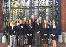2 Delegates Recognized at Brown Model UN