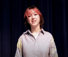 Helen Strout:  Poetry Out Loud State Runnerup