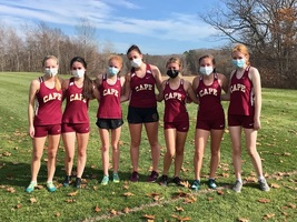 Cross Country Teams finish 1st & 2nd  @Western Maine regional  qualifier
