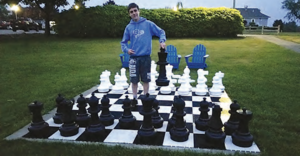 Chess Anyone?  Isaac Dinnerstein Individual Chess Champ