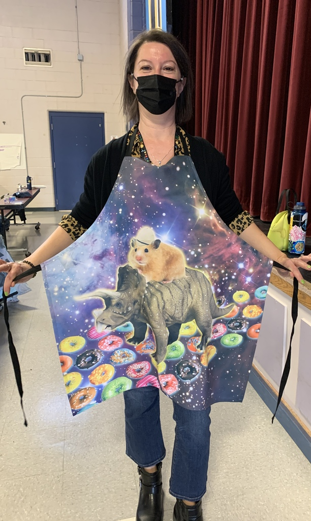 What an apron!